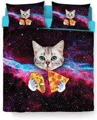 cat bed duvet cover and pillow case combo