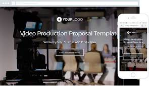 Corporate Video Free Corporate Video Production Proposal Template Better Proposals