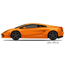 Lamborghini Gallardo 1st Generation - lamborghini gallardo u2013 jon forde t shirts and prints