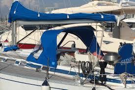 Sailboat Sun Awnings Awnings And Bimini Tops For Aft Cabins Genoa Sun U0026 Shade