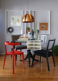 Small Round Dining Room Table Small Round Dining Table Dining Room Eclectic With Chair