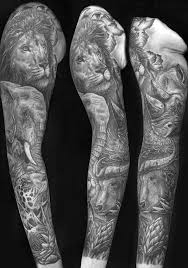 jungle sleeve designs ideas and meaning tattoos for you