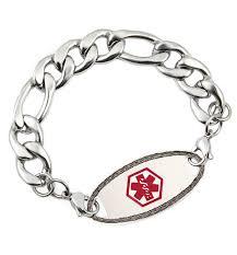 tag bracelet images Davidson stainless steel medical alert bracelet lauren 39 s hope jpg