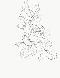 design flower rose drawing pin by nguyenhung on hoa pinterest tattoo flowers and draw