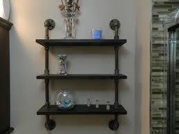 industrial look shelves 3 tier industrial look shelf retro