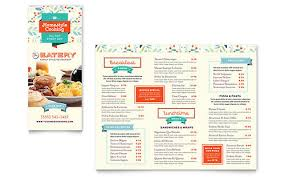 menu templates indesign illustrator publisher word pages