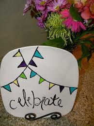 celebrate plate celebrate plate tutorial