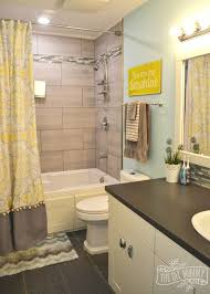yellow tile bathroom ideas yellow gray bathroom decor dayri me