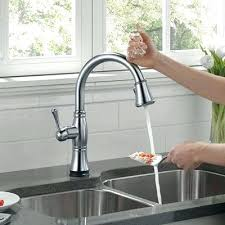 Kitchen Faucet Touchless Delta Touchless Kitchen Faucet Cool Faucets Pertaining To Touch