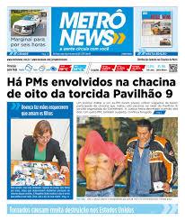 metrô news 08 05 2015 by jornal metrô news issuu