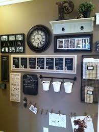 kitchen message center ideas images family communication boards walls search