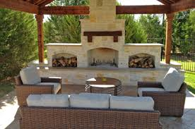 outdoor fireplace dallas outdoor kitchens in frisco plano