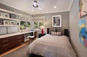 How To Turn A Room Into A Study Space Without Stripping Away Its - Study bedroom design