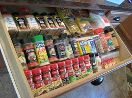 Kitchen Cabinet Door Spice Rack Cabinets U0026 Drawer Vertical Spice Racks Spice Racks Cabinet