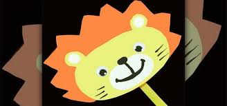 lion puppet how to make a simple paper lion stick puppet with your kids kids