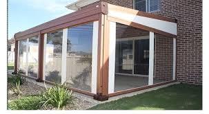 verande in plastica verande in plastica avec chiusure per esterni terrazzi balconi