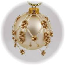 95 best beaded ornaments images on beaded