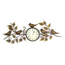 buy wall clock roman designer antique and eye catchy brass