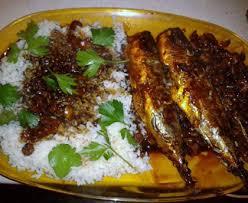 cuisiner le maquereau maquereau aux crevettes et riz recette de maquereau aux crevettes