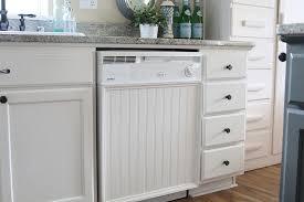 Adding Beadboard To Kitchen Cabinets Whiten And Brighten Your Kitchen
