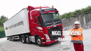 red volvo truck hills waste and volvo trucks youtube