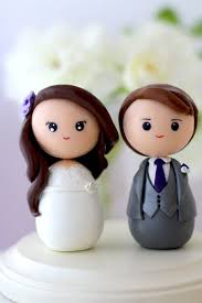 custom wedding cake toppers personalized custom wedding cake topper kokeshi figrurines 2040225