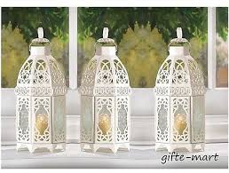 wedding table decorations candle holders 10 white moroccan 12 shabby candle holder lantern l wedding