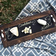 chalkboard cheese plate diy chalkboard serving tray diy chalkboard trays and chalkboards