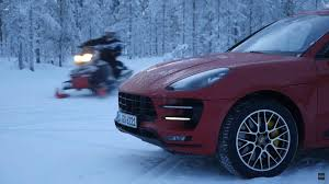 snow machines snow machines macan turbo versus snowmobile the drive