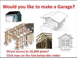 how to build a garage would you like to make a garage click here