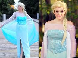 frozen diy elsa dress halloween costume people com