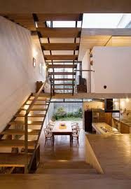 U Stairs Design Open Plan Interior Pinterest Open Spaces Shallow And Lonely