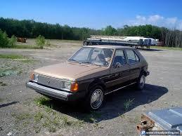 1980s dodge cars 1983 dodge omni at parking mopar 1980s cars