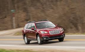 gold subaru outback 2017 subaru outback in depth model review car and driver