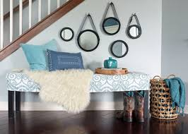 Pillow Top Bench How To Style A Bench