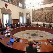 consiglio dei ministri news 2018 oggi sul tavolo consiglio dei ministri