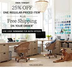 Pottery Barn Free Shipping Codes Pottery Barn Hello Sunshine 25 Off 1 Item Free Shipping Ends