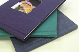 Fabric Photo Album Finao Playbooks Blue Turquois Purple Resources Albums And