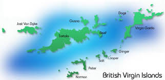 map of the bvi bvi welcome magazine explore the outer islands