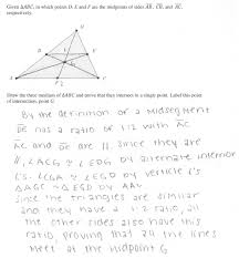 Coordinate Geometry Worksheets Median Concurrence Proof Students Are Asked To Prove That The