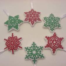 shop felt snowflakes on wanelo