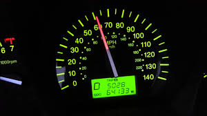 2009 kia spectra speedometer help youtube