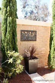 garden wall decoration ideas at home and interior design ideas