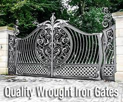 wrought iron components suppliers iron gate manufacturers