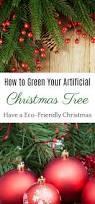 eco friendly artificial christmas tree