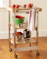 folding island kitchen cart folding cart williams sonoma