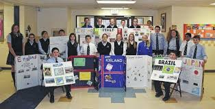 around the world project presented at wyoming area