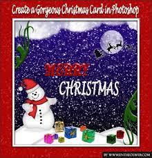 create a christmas card create a simple christmas card in photoshop