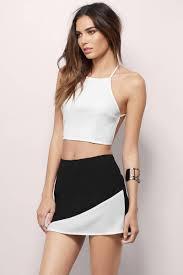 trendy navy u0026 pink skirt color blocked skirt navy u0026 pink skirt