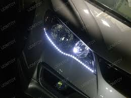 Auto Led Light Strips Audi A5 R8 Style Led Strip Lights Led Headlights Led Driving